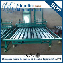Agricultural recycling bamboo/reed/straw/grass mat weaving/knitting machine with high efficiency