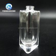 beauty 30ml square glass perfume bottle for women