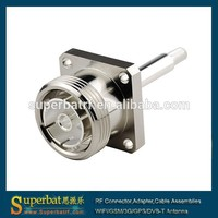 DC to 6GHz 7/16 Din Female panel mount rf connector with long extended pin