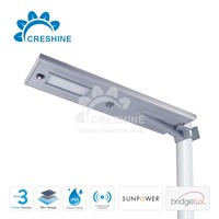 Alibaba Express 60W Solar LED Street Light all in one Made in China