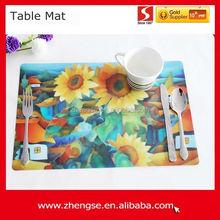 Customized Logo Printed Modern Table Mat