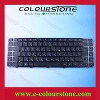 Original Russian RU Black Notebook Keyboard For HP DV6-3000 Keyboard With Big Enter Key AELX8400110
