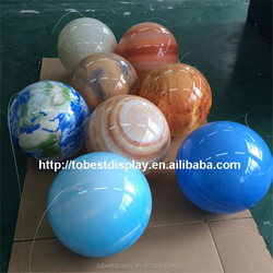 2015 Hot sale planets for decoration, Sun, Earth, Mars, Saturn nine planets for sale