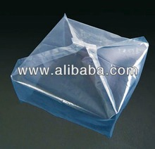 High quality various types of polyethylene gusseted pallet covers for cargo truck