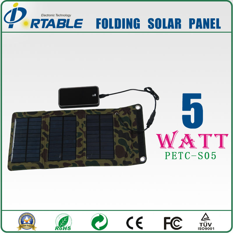 2012 latest Mini 5W Solar Charger bag for iphone