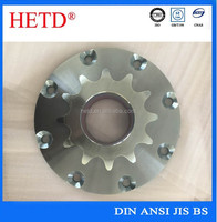 High quality special finished bore galvanization gear shaping/milling sprocket
