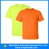 Yellow/orange fluorescent blank dry fit t shirt wholesale