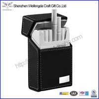 Wholesale Custom Handmade Leather Cigarette Pack Holder