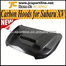New Arrival 2013 Carbon Fiber Car Engine Hoods for Subaru XV