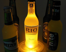 LED CUP MAT Luminous cup mat for party and bar Glow in the dark cup mat for bar