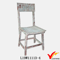 Handmade Vintage Wood Design French Dining Room Chairs