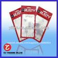personalizado de plástico ziploc bolsa