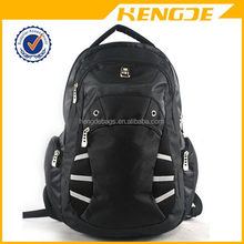 Contemporary hot selling nylon sports backpack with mesh pockets