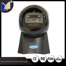 QR Code Scanner USB+Supermaket Desktop 2D Barcode Scanner X-9800