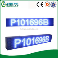 Outdoor led clock time date temperature sign led time temperature display