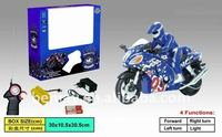 Hot!Radio Control Toy Motorcycle With Light 210604
