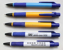 simple twist plastic ball pen for hotel use