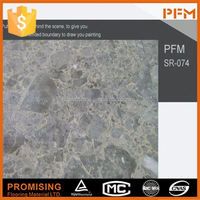 Natural marble Chinese supllier ceramic tile looks like stone