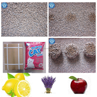 High quality Bentonite cat litter with natural fragrance