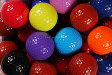 Hot sell Can be used to push rod series color gift golf ball