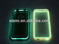 2013 glow in the dark silicone cell phone case