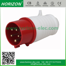 China professional supplier anti-dust Industrial three-phase plug industrial