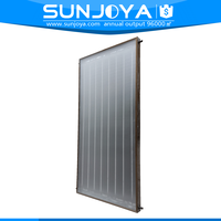 Pressurized Flat Plate Solar Collector for water heating