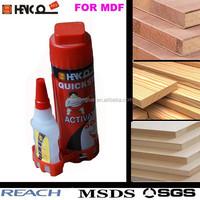 MDF Glue 50ml Cyanoacrylate adhesive 1500CPS plus 200 ml activator