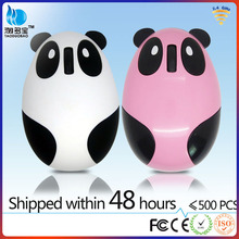 2.4g wireless panda mouse with rechangeable lithium battery