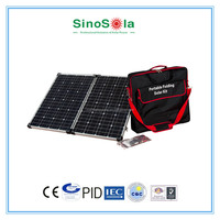 portable folding solar panel kit 80w with TUV/CEC/CE/IEC/PID/ISO