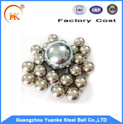 China supplier good quality stainless steel ball for motorcycle parts