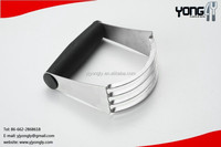 Yongly Supplier TPR Handle Stainless Steel 4 Blade Pastry Dough Blender pastry blender