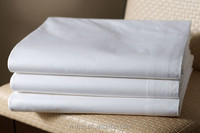 Wholesale Cheap White Flat Cotton Bed Sheet For Hotel And Hospital