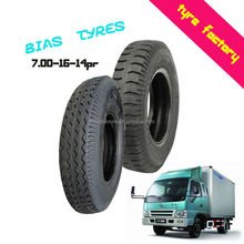 7.00-16-14PR good traction durable light truck bus bias tyres made in Qingdao