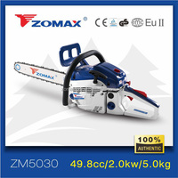 Zomax ZM5030 agriculture tools and hand tools chain saw brush cutter tree logs cutting machine