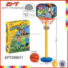 Vertical basketball hoop mini basketball pole game toy