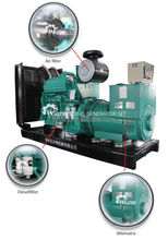 150kw/187.5kva cummins soundproof low fuel consumption generator price