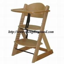 High Quality Wooden Baby Feeding High Chair HC-11