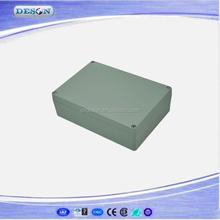 340*235*120mm IP67 Waterproof Aluminium Junction Box , Waterproof Enclosure Box Series FA71