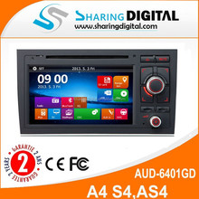 AUD-6401GD with high resolution car dvd Body: 165.5x163x101MM For S4
