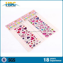 New Arrival and Hot Sales Hot Stamp Epoxy Sticker