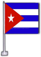 poliéster bandera de carro bandera de Cuba