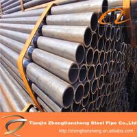 china suppliers black steel pipe dimension / big black tube