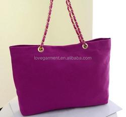 Fold nylon and treasure single handbag