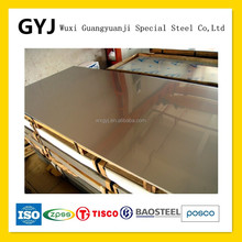 2 MM 434 hl superficie de acero inoxidable placa de metal / sheet IN china