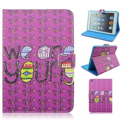 We are young Stand TPU+PU Leather Tablet Case For iPad Mini 1/2/3