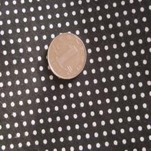 polka dots printed cotton fabric