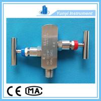 2 way valve manifold, stainless steel water manifold