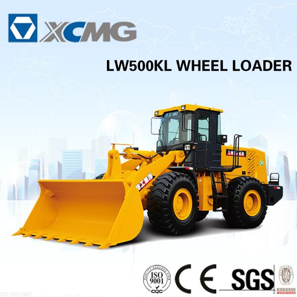 Xcmg LW500KL de mini pá carregadora
