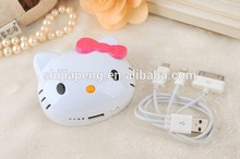 Cheap Power bank Free NL POST 100% orignalHello kittypower bank 16000mah Dual USB Power Bank For Hello kitty MIPAD MI4 Cellphone